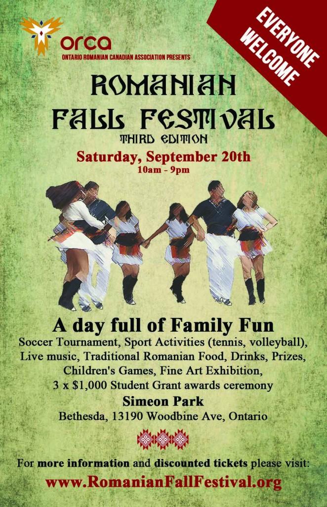 Romanian Fall Festival